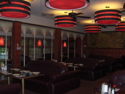 China Star's modernistic interior