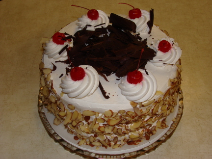 Black forest cake from Ingrid's Kitchen